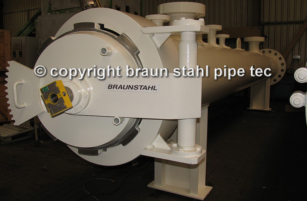 "Braunstahl-Quick-Opening-Closure Type BSV, DN 28"" PN233 bar, with Key Interlock System"