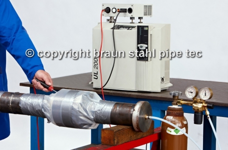 Helium - Tightness test, Insulation Joint, Mass spectrometer